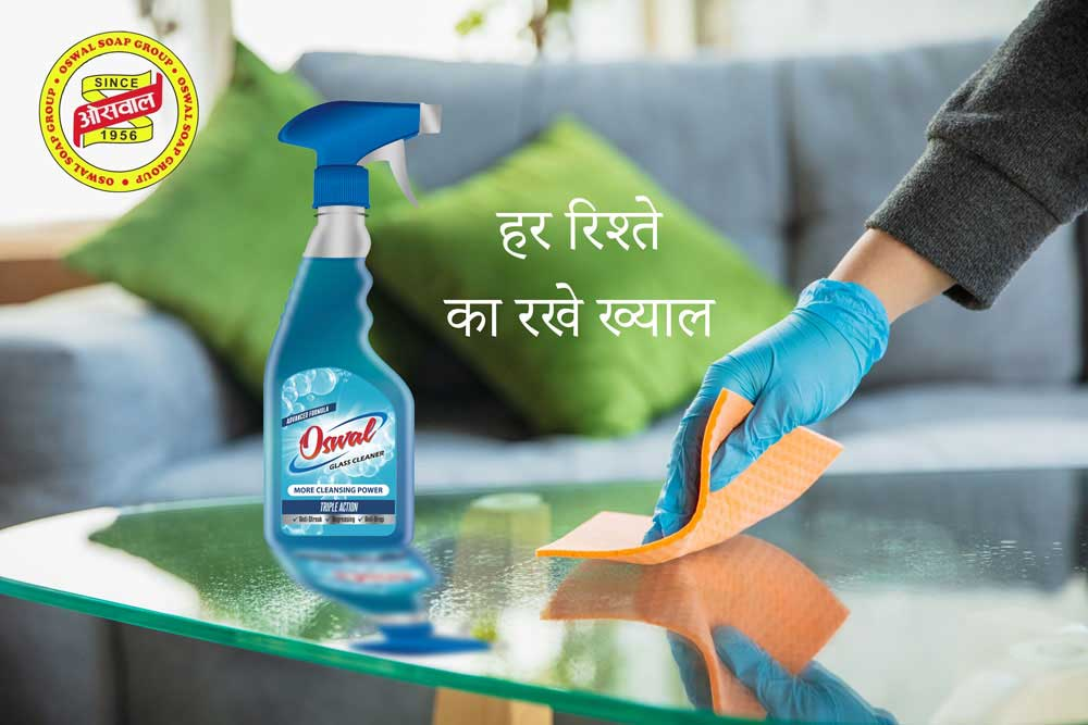 Oswal Glass Cleaner